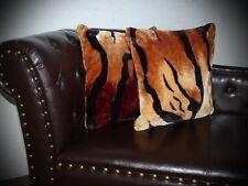 Kissen Kissenhülle Dekokissen im Tierfell - Design Modell Tiger - Look