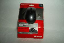 Microsoft Wireless Mobile 4000 Mouse BlueTrack Tech Nano Receiver  D5D-00001 NEW