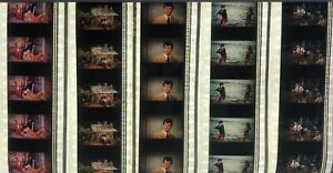 Clambake feat Elvis Presley (61) - 5 strips of 5 35mm Film Cells