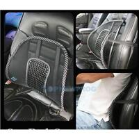1× Mesh Lumbar Lower Back Brace Support Car Office Seat Chair Cushion Pad Pillow