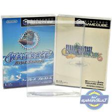 5 giapponesi GameCube Game Box Protettori forte 0.4 mm in Plastica Display Custodia Del Giappone