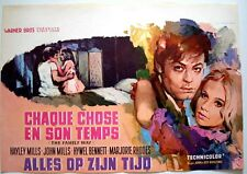 FAMILY WAY Belgian movie poster HAYLEY MILLS PAUL McCARTNEY RAY ELSEVIERS 1966