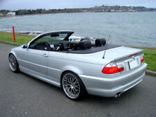 USA Free Ship 99-06 BMW E46 Convertible Unpainted Trunk Lip Spoiler Wing M3