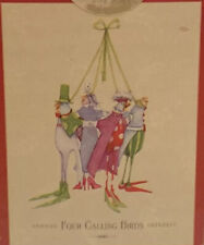 Patience Brewster Four Calling Bird Ornament Twelve Days Of Christmas Decoration