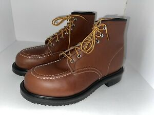 Red Wing 8249 Oil Resistant Long Wear Work Steel Toe Safety Boots Size 9-EEE
