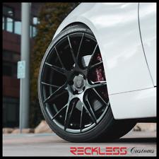 Blaque Diamond 19 Bd F18 Black Concave Wheel Rims Fits Toyota Camry