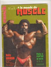 Le Monde du Muscle #17 Bodybuilding Magazine/ROBBY ROBINSON 11-78 (FR)