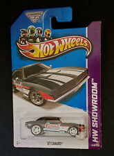 2013 Hot Wheels '67 CAMARO Summit Racing SUPER Treasure Hunt GRAY GREY Variation