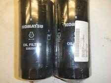 Qty 2 KOMATSU OIL FILTER 528250R1 Spin on