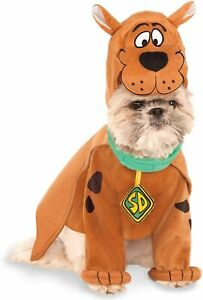 Scooby Doo Dog Costume - XL - Shirt, Collar w/ Cape, Headpiece - Rubie's - NWT