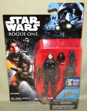 """SERGEANT JYN ERSO IMPERIAL GROUND CREW DISGUISE Star Wars Rogue One 3.75"""" Wave 3"""