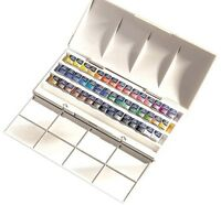 Winsor and Newton Cotman Watercolours - The Half Pan Studio Set - 45 Half Pans