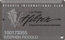 Slot Card - Hilton Resorts International Club - Las Vegas - US-0940