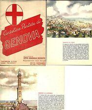 ax 20- Anni 60- GENOVA - 9 cartoline parlate - Ed. Visceglia Roma per Gaggiolo