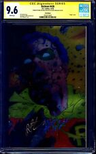 Batman #428 FOIL CGC SS 9.6 signed by Jim Starlin Mike DeCarlo DEATH JASON TODD