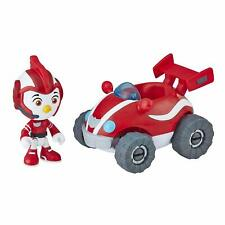 """Nick Jr Top Wing 3"""" Action Figure & Vehicle Racer ROD'S ROAD WING Car Toy NEW"""