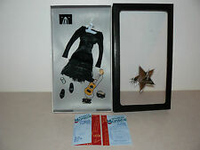 Franklin Mint Marilyn Monroe The Black Dress Ensemble With COA For A Doll