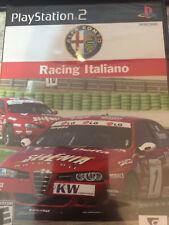 PS2 Alfa Romeo Racing Italiano Brand New Sealed