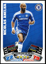 Nicolas Anelka Chelsea #90 Topps Match Attax Football 2011-12 Trade  Card (C208)
