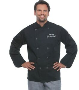 Kochjacke Bäckerjacke Karlowski bestickt mit eigenen Logo oder Text