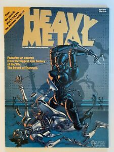 Heavy Metal Magazines 1977-1996