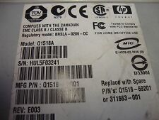 HP STORAGEWORKS ULTRIUM 460 Q1518A TAPE DRIVE ZEE303