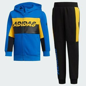 Adidas Boys Jacket Pants Age 18-24 Months 2-3-4-5 Years 🔥 GENUINE FT® Toddler
