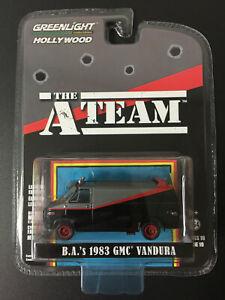 GREENLIGHT Hollywood Series 19 - A TEAM - B.A.'s 1983 GMC Vandura Van - 1:64