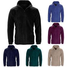 Fleece Jacket Cropped Regular Size Coats & Jackets for Men