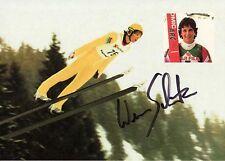 Autogramm Werner Schuster Skisprung Nationaltrainer deutschland, eh. Österreich