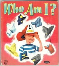 Vintage 1952 Children's Whitman Cozy Corner Book ~ WHO AM I?
