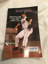 Rancho Cucamonga Quakes California Baseball Brochure 2007 Vs Mavericks