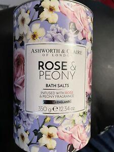 Rose And Peony Bath Salts