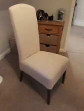 Next Sienna Cream Dining Chairs X 2 New Excellent Condition