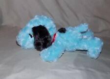 "Hallmark Blue Peanuts Snoopy Beagle Dog Floppy Bean Bag Plush Stuffed Animal 12"""