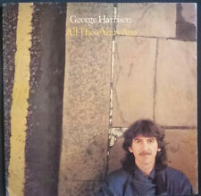 "GEORGE HARRISON - ALL THOSE YEARS AGO 1981 1ST EDITION 7"" DARK HORSE RECORDS"