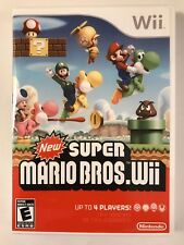 New Super Mario Bros. - Nintendo Wii - Replacement Case - No Game