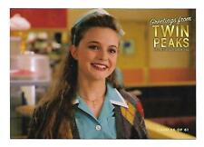 TWIN PEAKS GOLD BOX POSTCARD #56 ANNIE BLACKBURN (HEATHER GRAHAM)