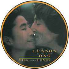 JOHN LENNON & YOKO ONO ~ Milk & Honey ~ Rare 1984 UK 12-track vinyl PICTURE DISC