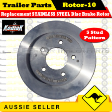 Kodiak Replacement STAINLESS STEEL Disc Brake Rotor 10  -  5 Stud Pattern