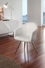 DC-110 Dupen Design Stuhl Set 2 Stühle Esszimmerstuhl Kunstleder Weiß Dining