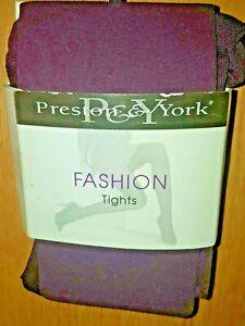 Preston & York Purple Fashion Tights, Size B  - MSRP $12