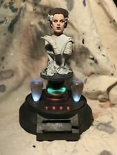 Elsa Lanchester BRIDE Of FRANKENSTEIN BUST Pro Build & Paint w Light Up Base