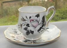 Royal Albert Fine Bone China 1st Quality Queen's Messenger Coffee Cup & Saucer