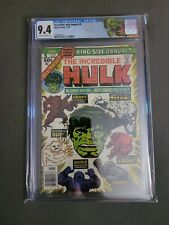 Incredible Hulk Annual #5 CGC 9.4 2nd app Groot Kirby Cover 💎 Retired LABEL