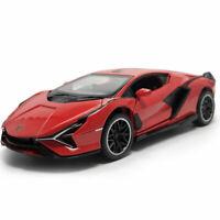 1:32 2019 Lamborghini Sian FKP 37 Supercar Model Car Diecast Toy Vehicle Kid Red