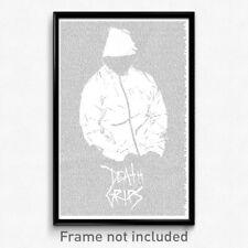 Death Grips - Lyrics Poster (Exmilitary Money Concert Gig 2017 NOT VINYL LP)