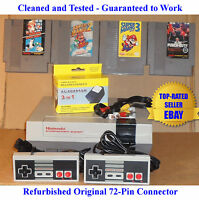 Nintendo NES Console Bundle + Mario 1 2 3 & Punch-Out! - Best Pins - Guaranteed
