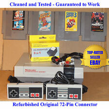 NES Console Bundle + Mario 1 2 3 & Mike Tyson's Punch-Out! -BEST PINS-Guaranteed