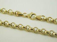 """Belcher link chain necklace 28"""" long 41.0 grams parrot clasp"""